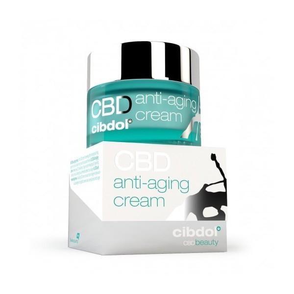 Crème anti-age CBD pour une peau plus jeune et repulpée chez Cocorikush.fr