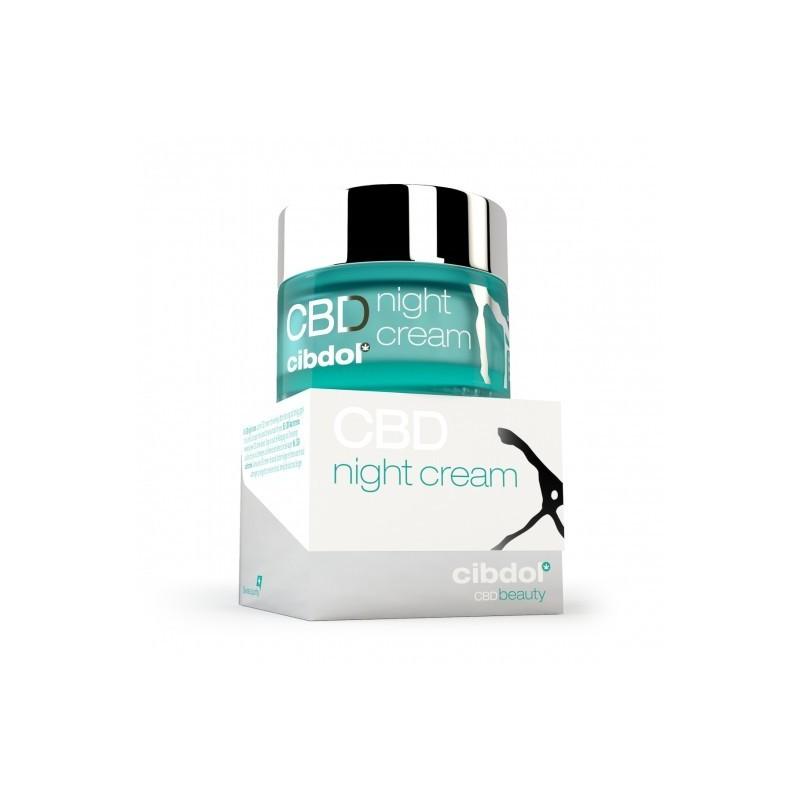 Crème de nuit CBD efficace