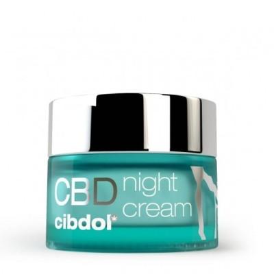 Crème de nuit au CBD pour une peau repulpée chez Cocorikush.fr
