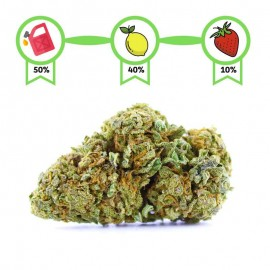 Strawberry Diesel CBD effet relaxant. Weed légale